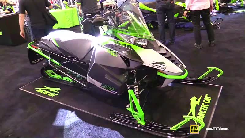 2016 Arctic Cat XF Crosstrek 7000 Sled - Walkaround - 2017 Toronto Snowmobile ATV Show