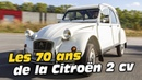 La Citroën 2CV a 70 ans : retour sur la mythique populaire française