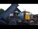 Купил списанный ЗИЛ -131 и СКРЕСТИЛ с К -700 , а так же поставил двигатель от трактора д 240