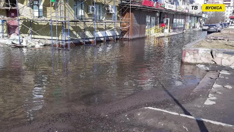 Начался ремонт ливневой канализации на ул Пограничная Светогорск 2018