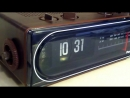 Panasonic Flip CLock RC-6015 - The Model from Back To The Future - with Song Cli