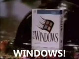 Japanese Windows 3.1 Commercial with English subtitles)