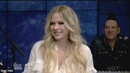 Avril Lavigne sings 'Head Above Water' (Live with Kelly and Ryan 18 February 2019)