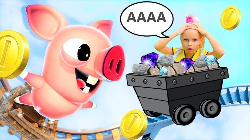ПОБЕГ ПОРОСЕНКА Bacon Escape