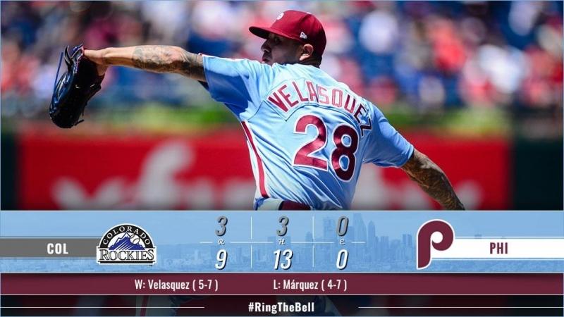 Game 66: PHI_9_COL_3 © MLB.com