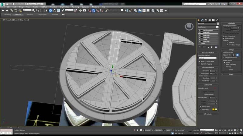 Моделирование кулона в 3ds max. modeling pendant in 3d max
