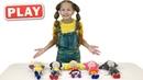 КУКУТИКИ PLAY Новый Кукутик Играем с Полиной и Кукутиками в куклы Учим Цифры
