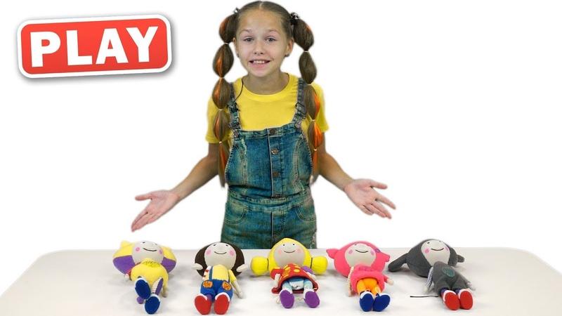 КУКУТИКИ PLAY - Новый Кукутик - Играем с Полиной и Кукутиками в куклы - Учим Цифры