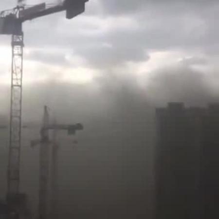 Московский выброс / Moscow blowout