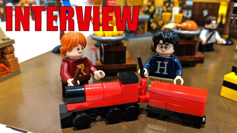 LEGO Jurassic World Harry Potter Design Lead Marcos Bessa Interview
