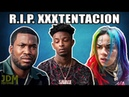 Rappers Paying Tribute To XXXTentacion Death - 6ix9ine, 21 Savage, Meek Mill