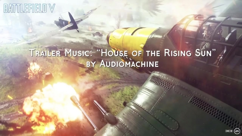 Battlefield 5 Trailer Music [House of the Rising Sun]