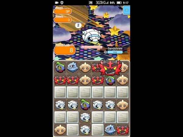 Pokemon Shuffle - Daily Pokemon: Sandshrew (Alola Form)