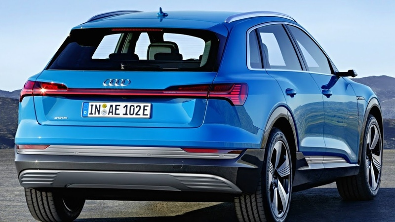 2019 Audi e-Tron with DIGITAL SIDE MIRRORS – Electric SUV Tesla Model X and Jaguar i-Pace Rival