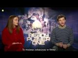 Olivia Cooke i Tye Sheridan o filmie Player One part 2