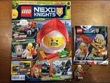 ОБЗОР НОВОГО ЖУРНАЛА LEGO NEXO KNIGHTS #6 ЗА 2018 ГОД МИНИФИГУРКА ЛАНСА РИЧМОНДА