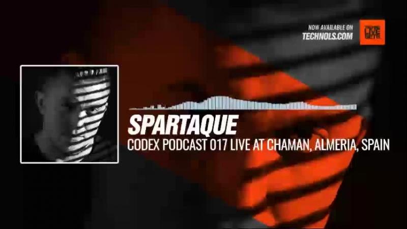 Techno music with @Spartaque - Codex Podcast 017 live at Chaman, Almeria, Spain Periscope