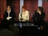 Пресс-конференция Милен Фармер и Лорана Буттона 16.12.2004