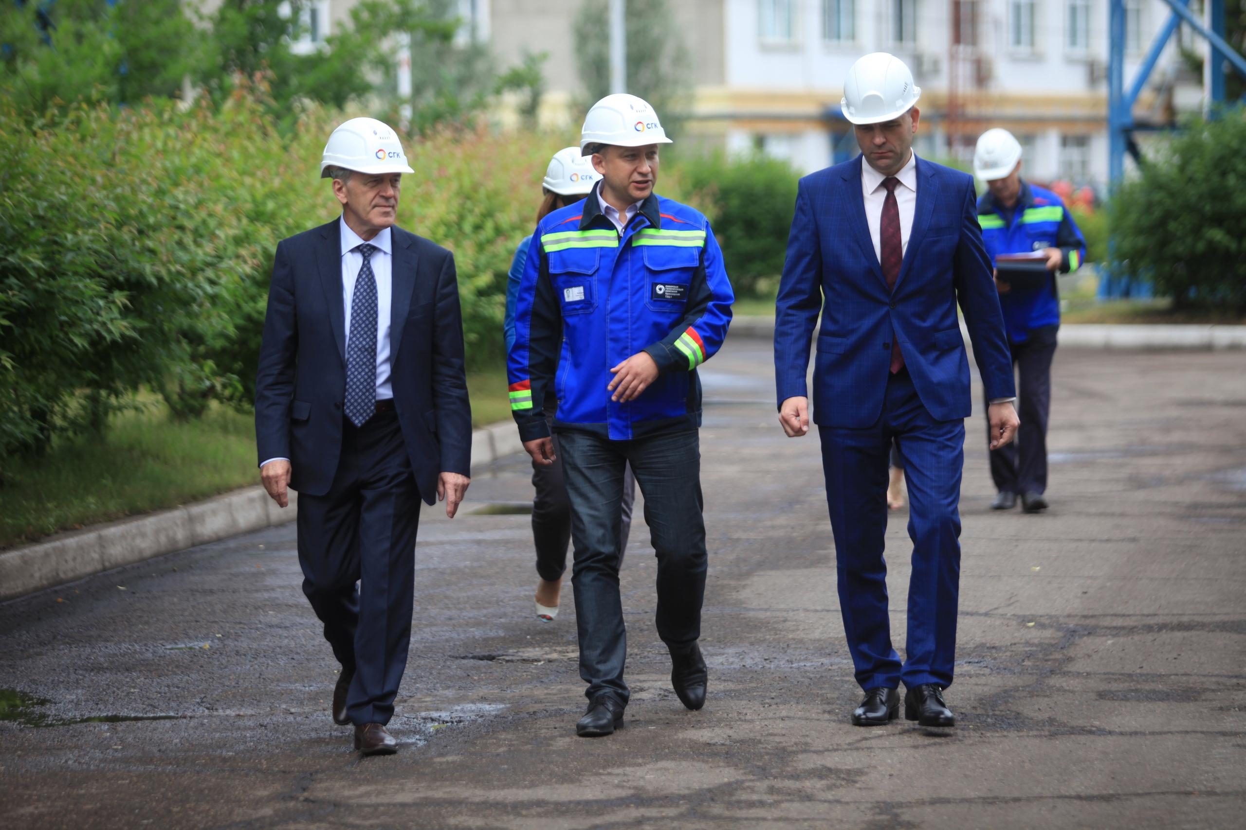 Новая труба на Красноярской ТЭЦ-1 выросла до 100 метров