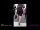 Mini dress mini skirt мини юбка большая попка в мини юбке sexy ass nice ass wallking in street sexy legs big ass попка