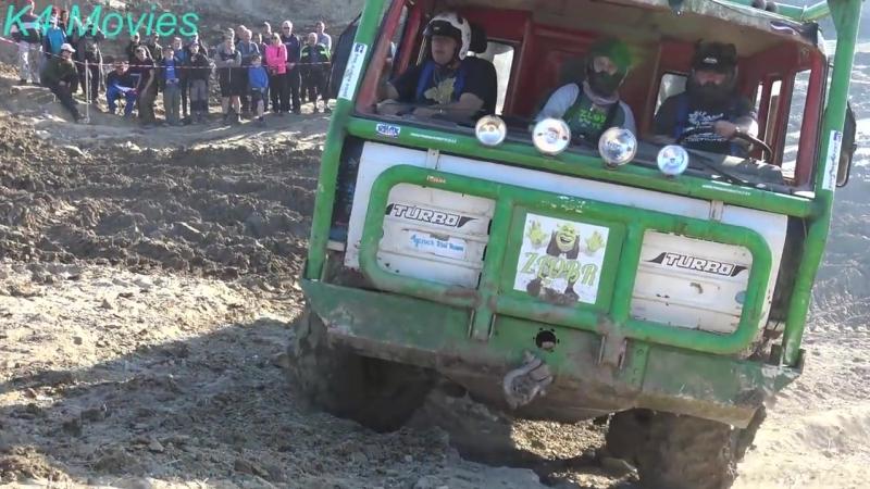 6x6 Truck Trial, Milovice 2018, participant no. 435