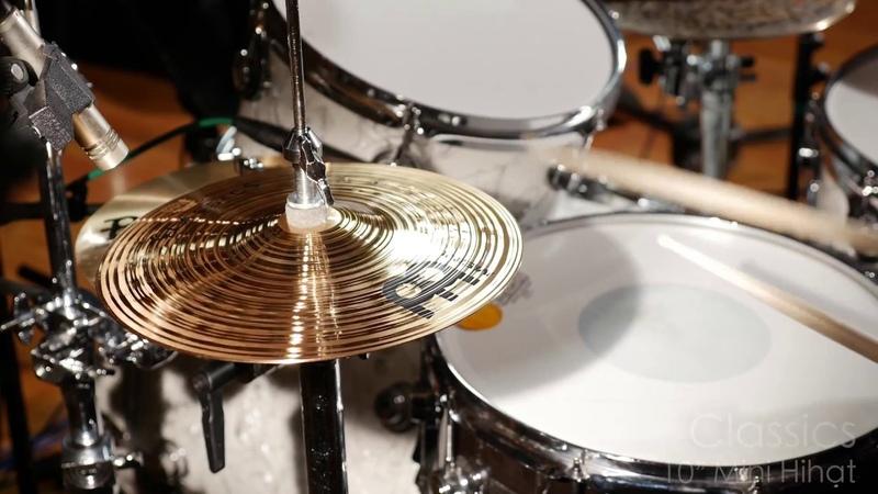 Meinl Cymbals C10MH Classics 10 Mini Hihat