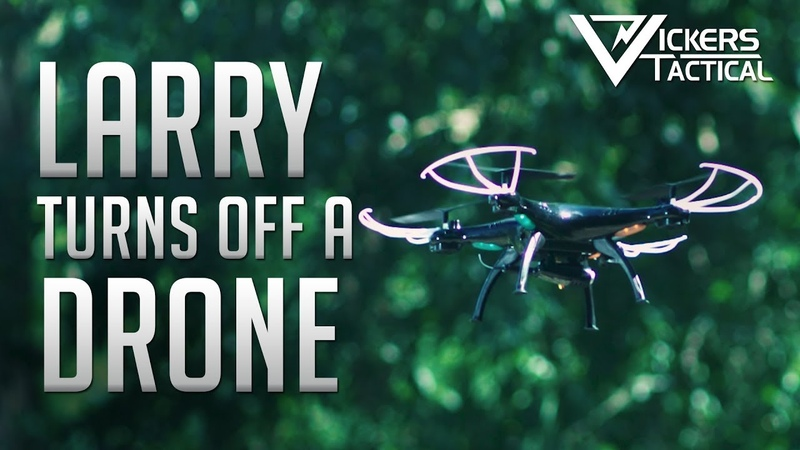 Larry Turns It Off - Drone