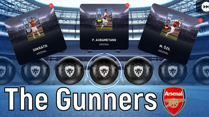 ★ Arsenal ★ Best Players in Agent ★ Pes 2019 Mobile