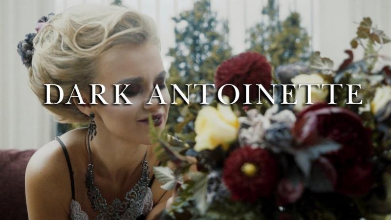 Dark Antoinette Bride's morning