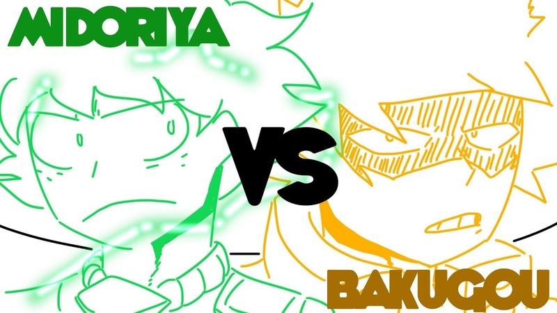 [FAN ANIMATION] MIDORIYA VS BAKUGOU