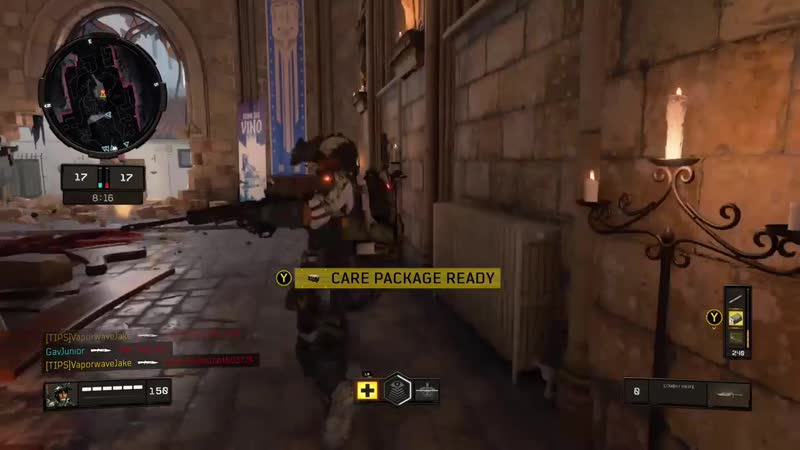 I sure am glad they fixed the knife physics! Black Ops 4