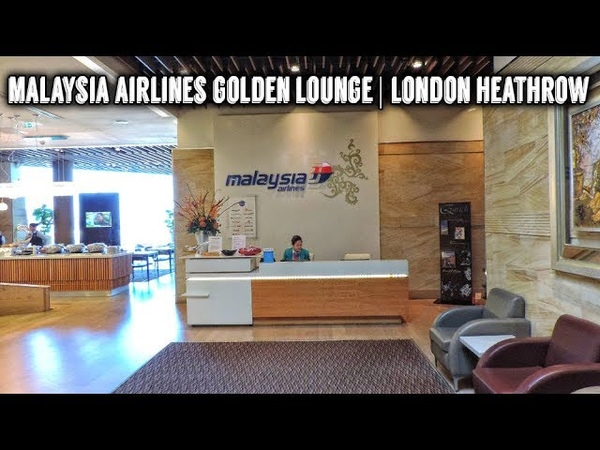 Malaysia Airlines Golden Lounge | London Heathrow | Review