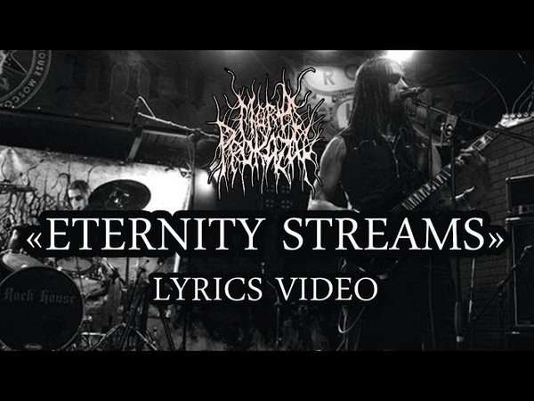 Mora Prokaza - Eternity Streams (black metal from Belarus) LYRICS VIDEO HD