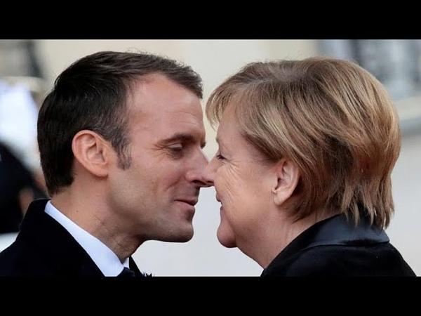 101-летняя француженка приняла Меркель за жену Макрона