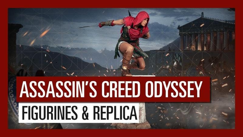 Merchandise - Assassin's Creed Odyssey: Kassandra Alexios figurines, Broken Spear of Leonidas replica