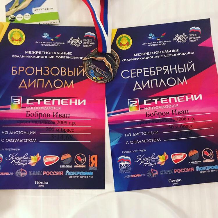 Донецкие спортсмены приняли участие в соревнованиях «Детской Лиги Плавания Поволжья»