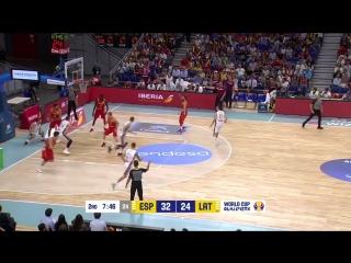 Spain v Latvia - Highlights - FIBA Basketball World Cup 2019 - European Qualifiers