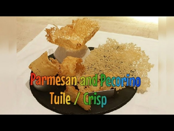 Garnish :How to make different shapes of Parmesan and Pecorino cheese Tuile/ Crisp| by Monika Talwar