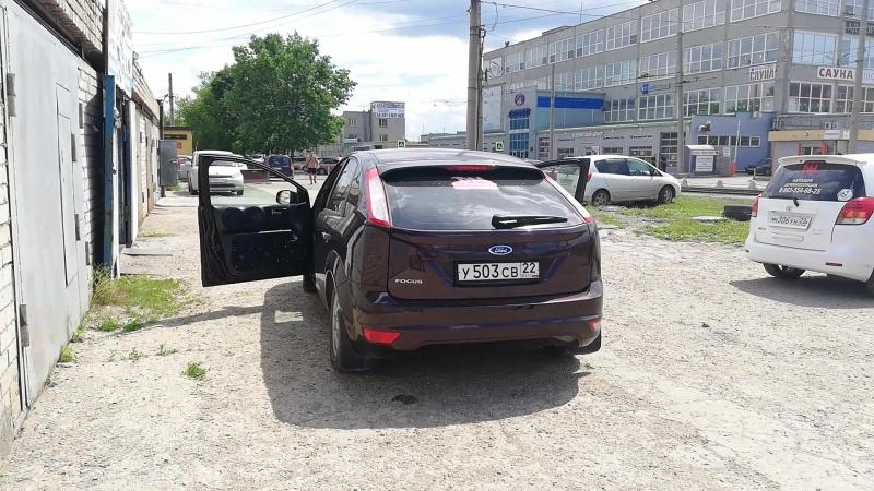 Ford Focus на Уралах ч3