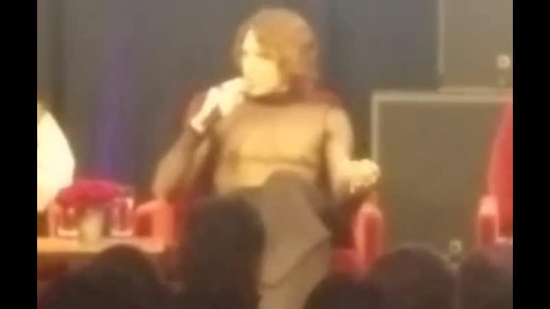 Cody speaking at the American Horror Story: Apocalypse FYC panel in Los Angeles! (via lisagayle7 on instagram)
