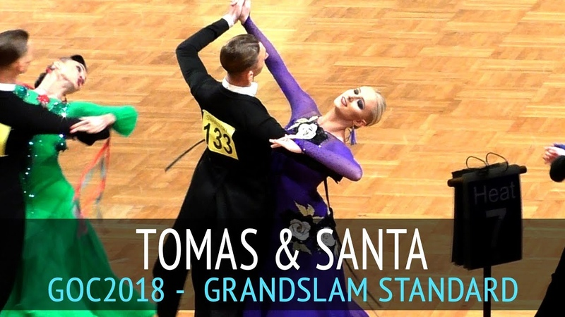 Tomas Janonis Santa Vlasa Медленный фокстрот GOC2018 GrandSlam STANDARD