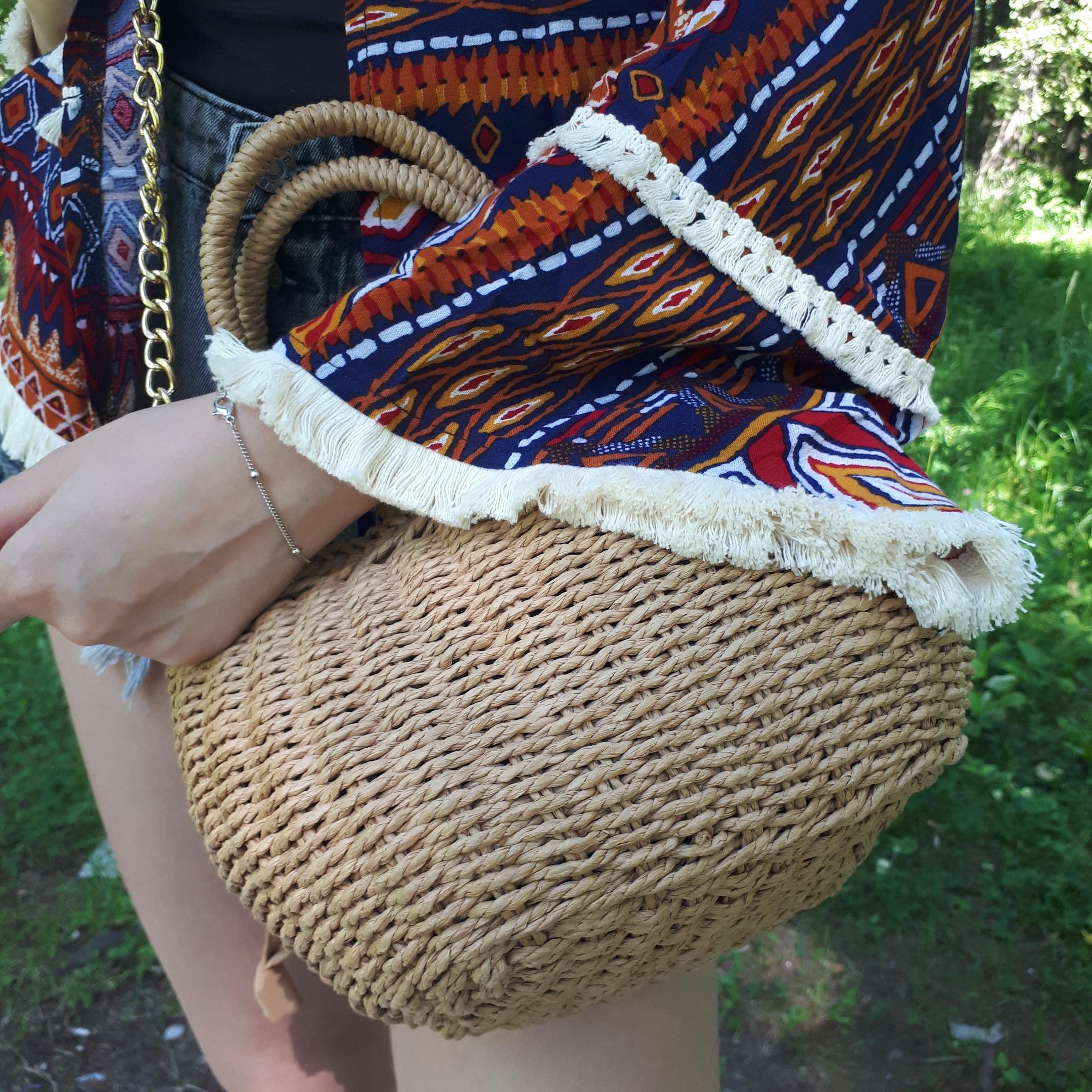 Плетеная сумочка от DALFR