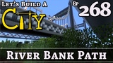 How To Build A City Minecraft River Bank Path E268
