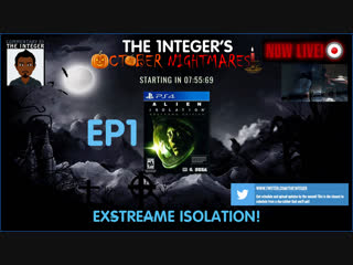 Hard Difficulty with Cam, Head tracking & Sound Detection on! Exstreame Alien Isolation! - EP1 #OctoberNightmares #Horror