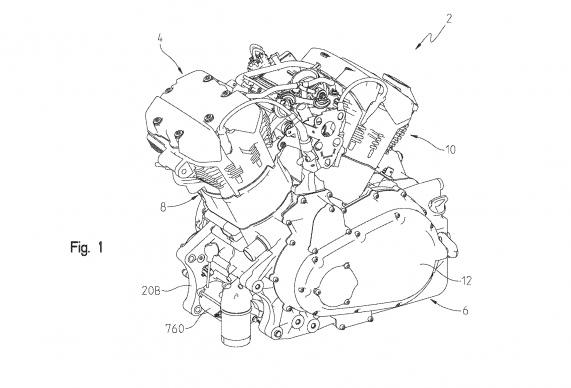 Новый двигатель Indian (патентные схемы)