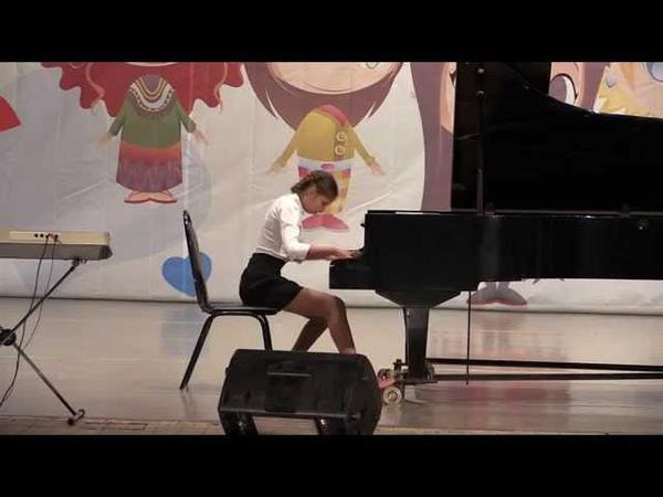Анна Блудилина исполняет Прелюдию Рахманинова