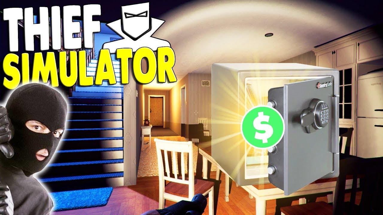 награбленное в Thief Simulator