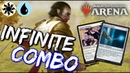 UW Famished Combo MTG Arena INFINITE Damage COMBO Deck in M19 Standard