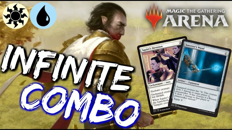 UW Famished Combo [MTG Arena] | INFINITE Damage COMBO Deck in M19 Standard