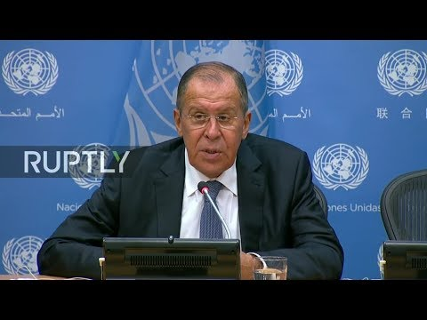 LIVE Russian FM Lavrov holds final press conference on sidelines of 73rd UNGA